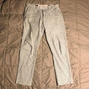J. Crew Slim Bedford Linen Style Pants, Size 32x34